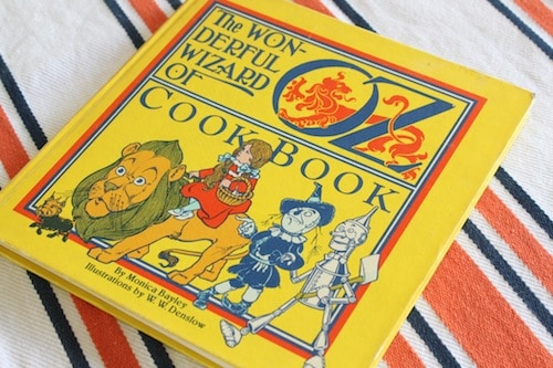 The Wonderful Wizard of Oz Cook Book, via www.www.goodfoodstories.com