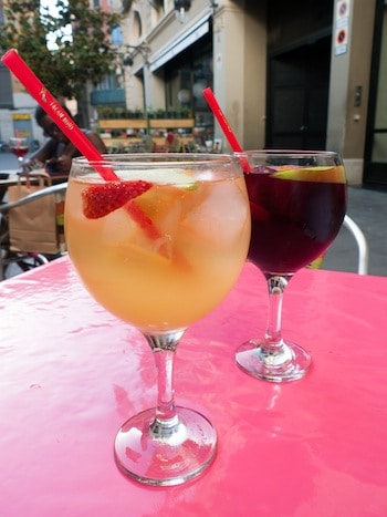 cava sangria in Barcelona, via www.www.goodfoodstories.com
