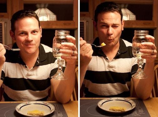 dairy-free lemon and olive oil tart, via goodfoodstories.com