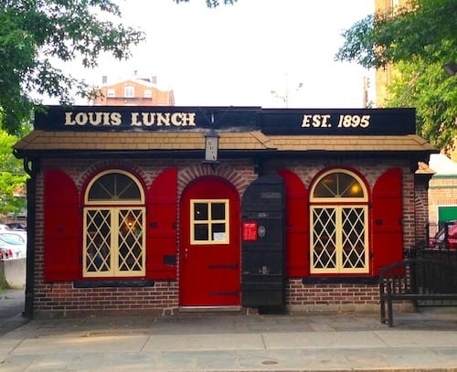 Louis' Lunch in New Haven, via www.www.goodfoodstories.com