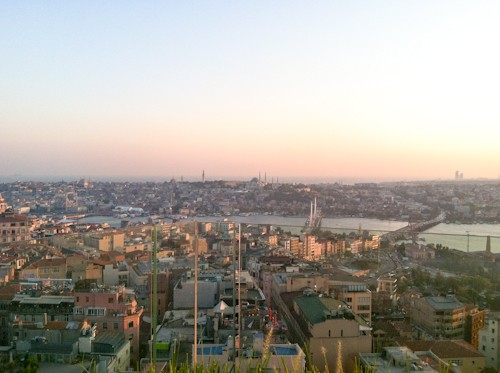 view from Mikla restaurant in Istanbul, via www.www.goodfoodstories.com