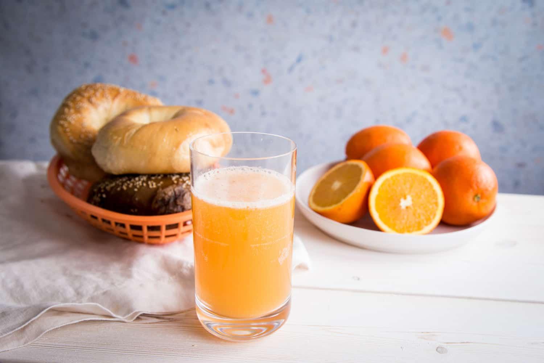Orange Juice Shandy: A Beer Mimosa
