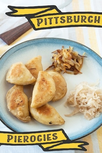 homemade pierogies, via www.www.goodfoodstories.com