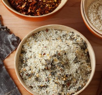 togarashi salt, via goodfoodstories.com