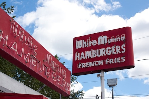 White Manna hamburgers in Hackensack, NJ, via goodfoodstories.com