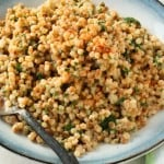Coconut Cilantro Toasted Israeli Couscous + Choosing Sides