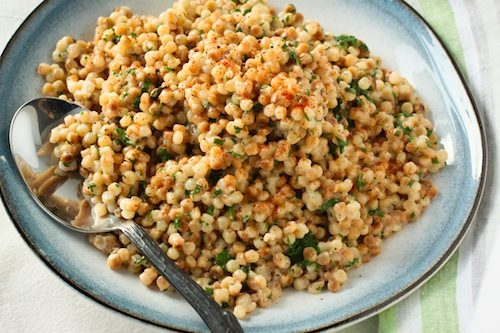 Coconut Cilantro Couscous from Choosing Sides