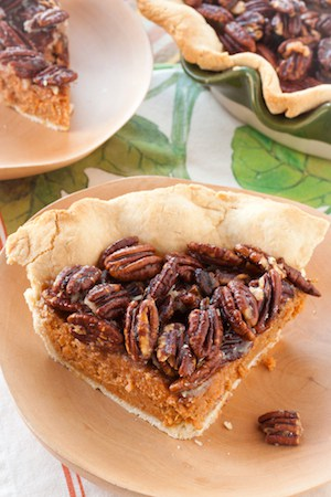 sweet potato praline pie, via goodfoodstories.com