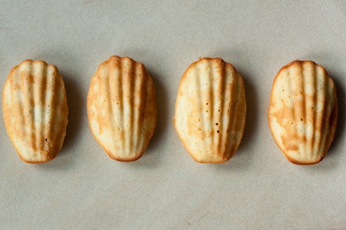 Proust's lemon madeleines, via goodfoodstories.com