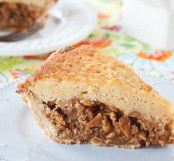 maple buttermilk peanut pie, via www.www.goodfoodstories.com