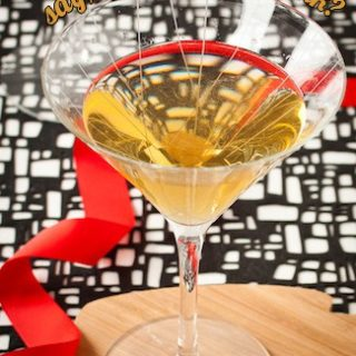 chartreuse and champagne cocktail, via www.www.goodfoodstories.com