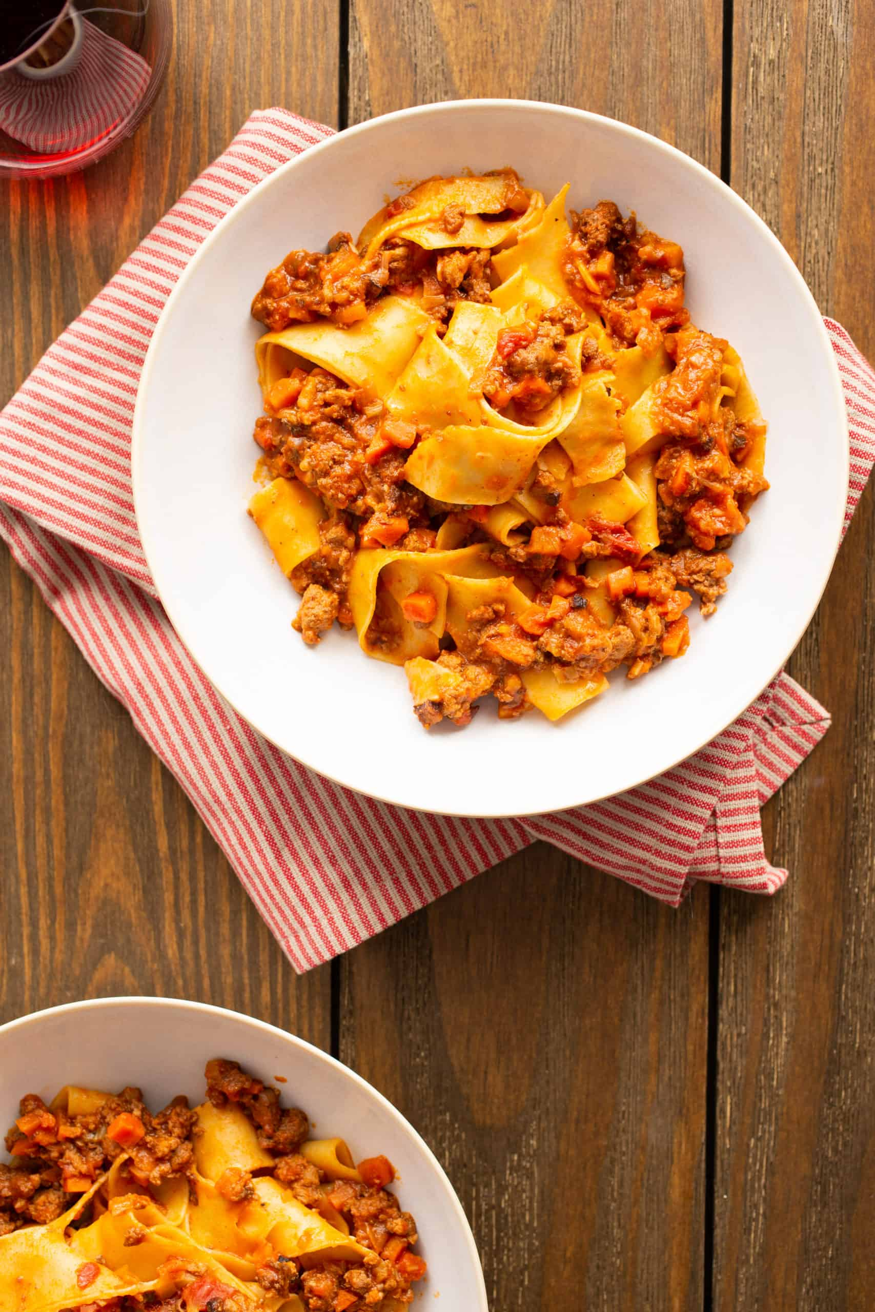 Two-Pan, Two-Hour Bolognese Sauce