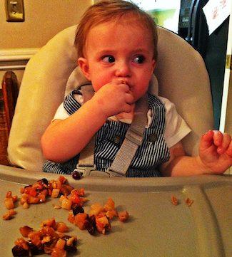 harvest fruit bake finger food for kids, via goodfoodstories.com