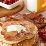 Bottoms Up: Old-Fashioned Pancakes