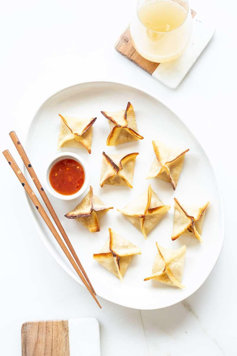 tofu veggie dumplings