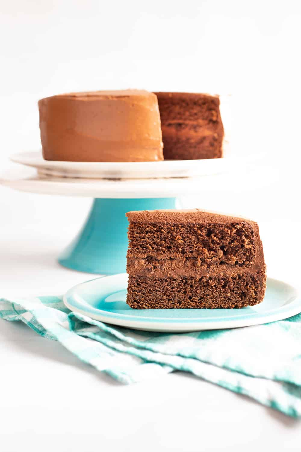 Why Try Rye Flour? For Chocolate Rye Cake!
