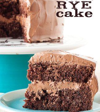 malted chocolate rye cake, via www.www.goodfoodstories.com