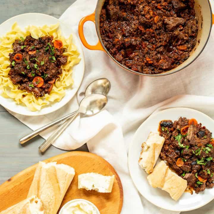 Boeuf en Daube (French Beef Stew)