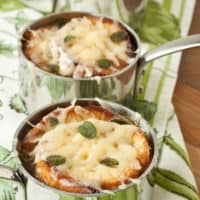 French Leek and Onion Soup