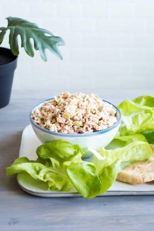 Briny Caper Tuna Salad