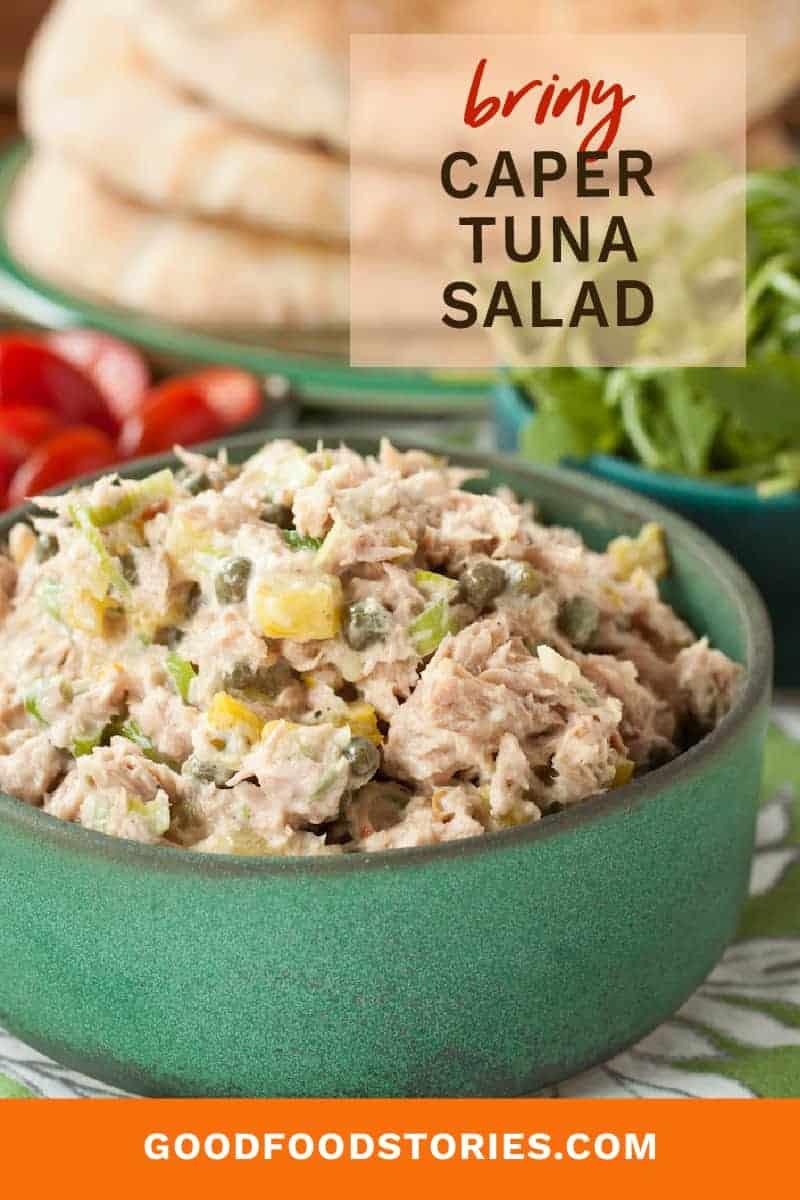 caper tuna salad