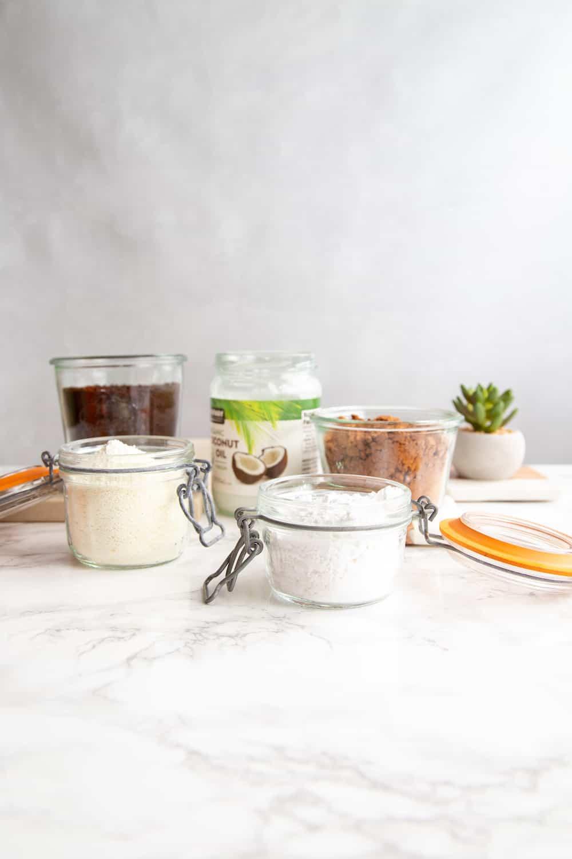 instant coffee mix ingredients