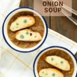 leek onion soup