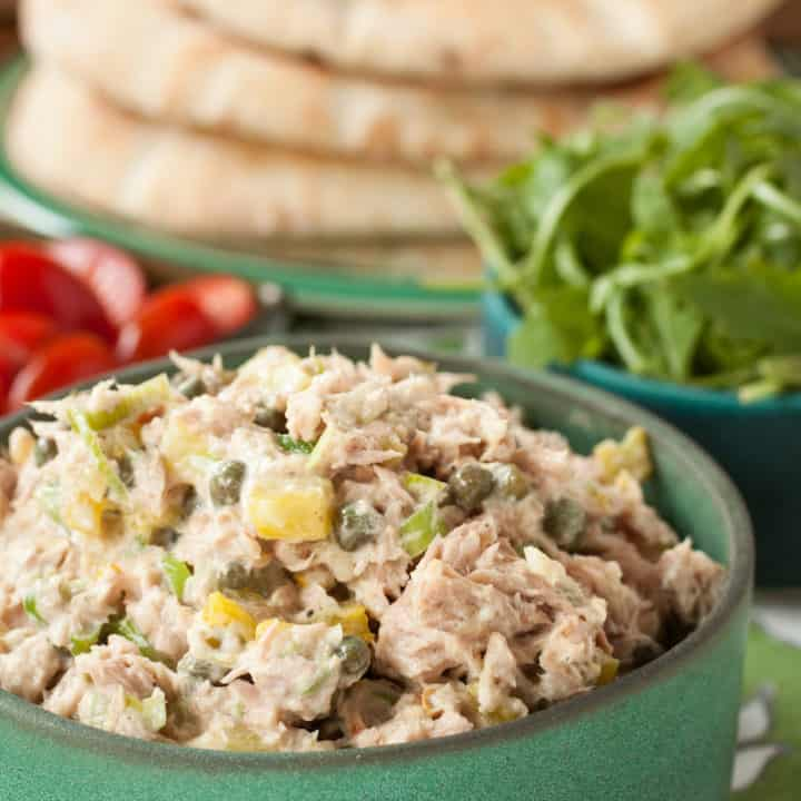 caper tuna salad, via goodfoodstories.com