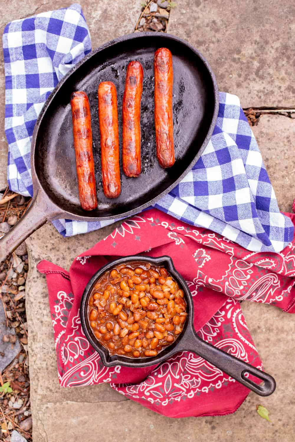 Franks and Beans To Take On the Road