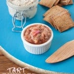 Tart Rhubarb Compote: Muted in Color But Not in Flavor