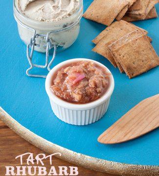 tart rhubarb compote, via www.www.goodfoodstories.com