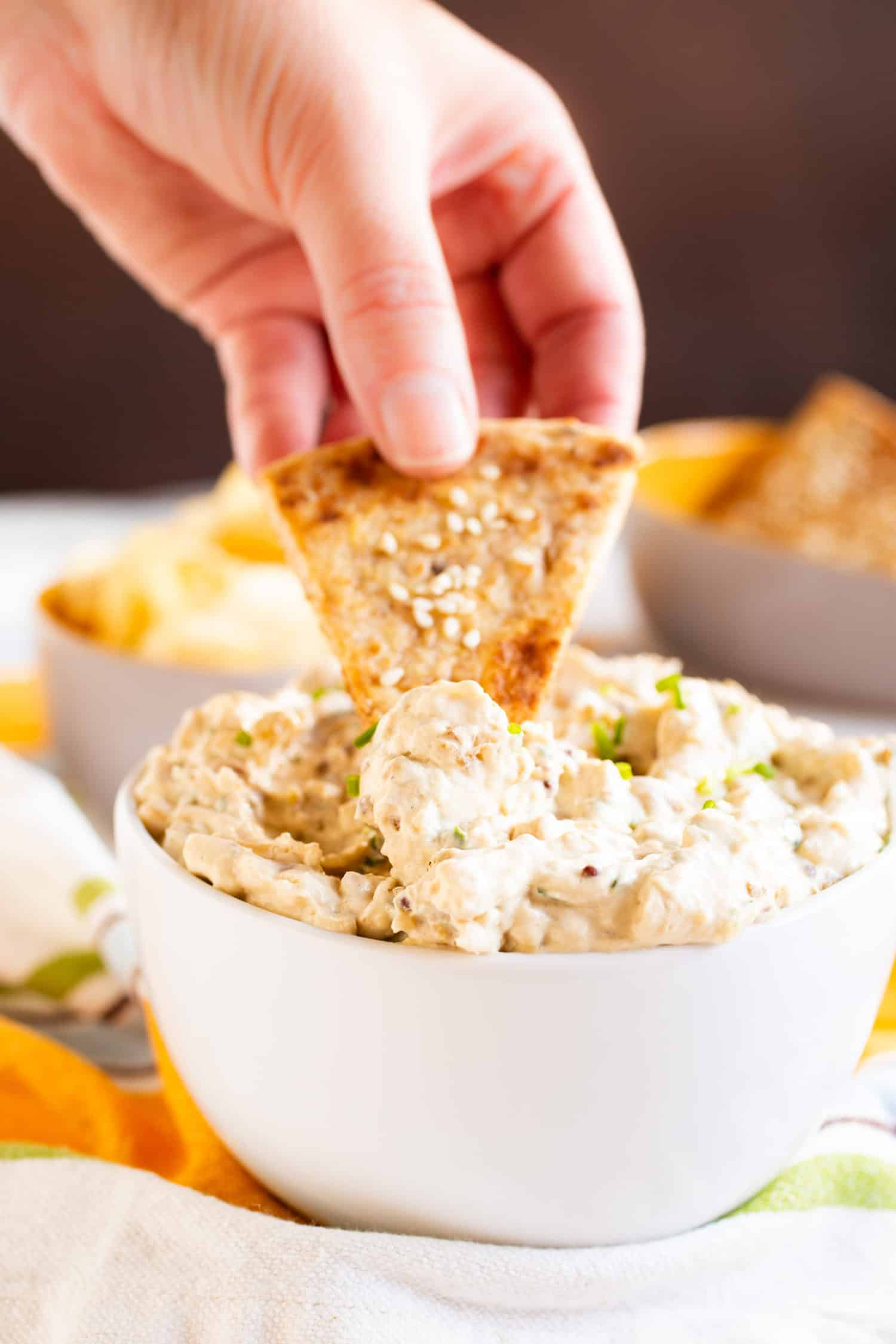 Ramped-Up French Onion Dip