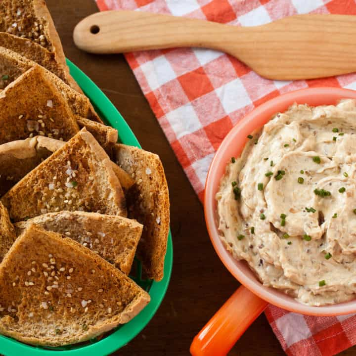 Homemade French onion dip is fantastic in any season - but especially when you can add fresh ramps.