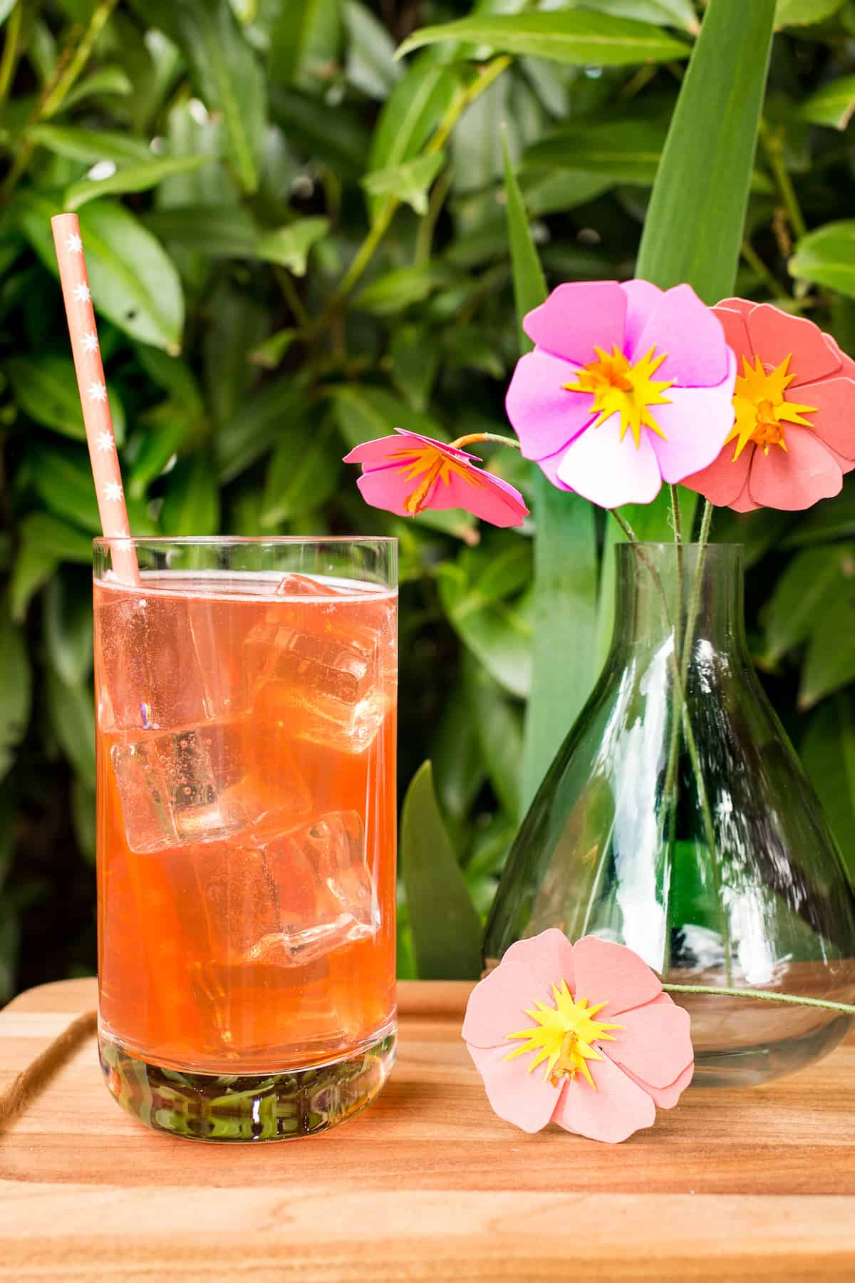 Hibiscus Shandy Beer Cocktails: Think Pink!