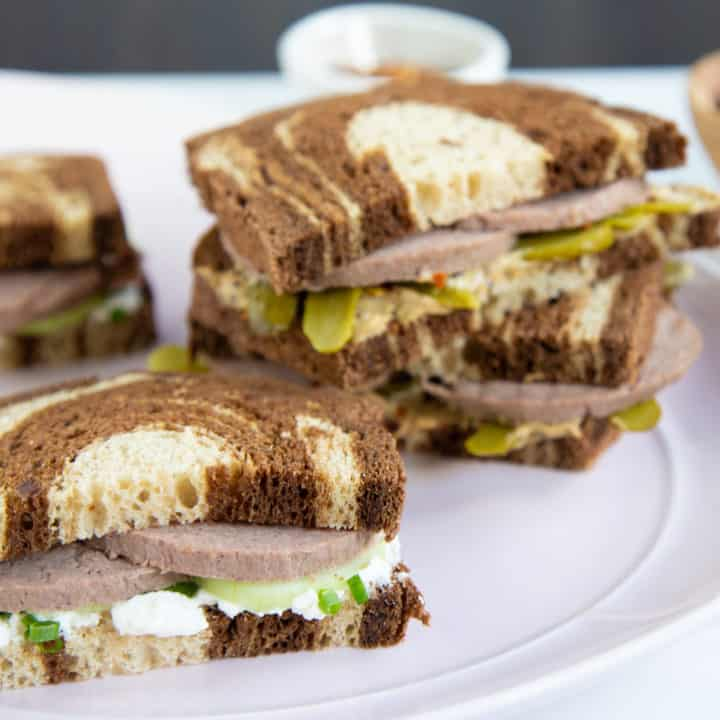 Mrs. Murry's Liverwurst Sandwich from A Wrinkle In Time