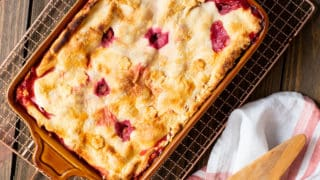 Deep-Dish Sour Cherry Peach Pie