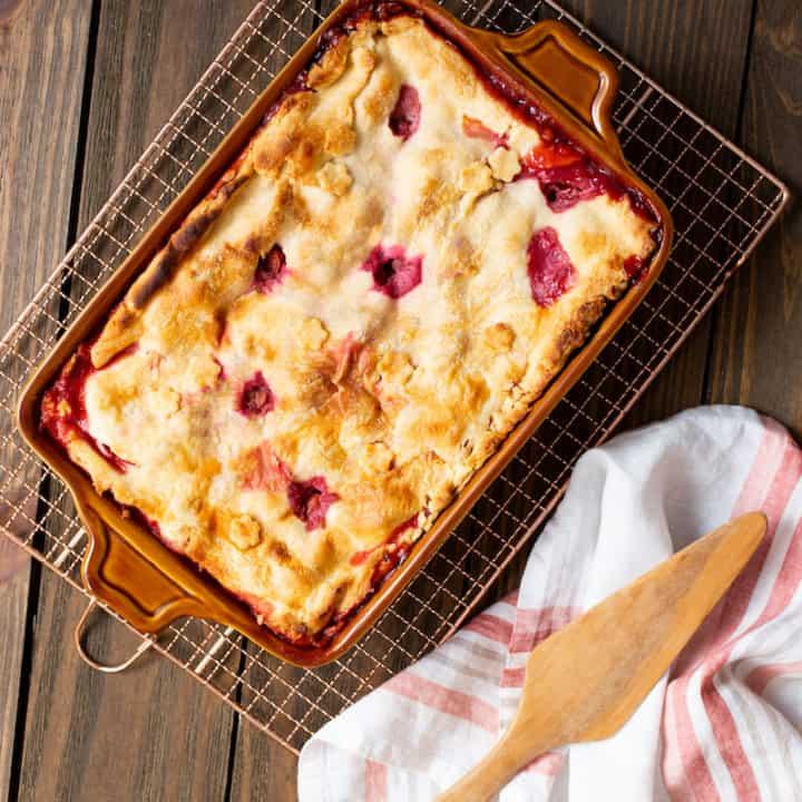 Deep-Dish Sour Cherry Peach Pie