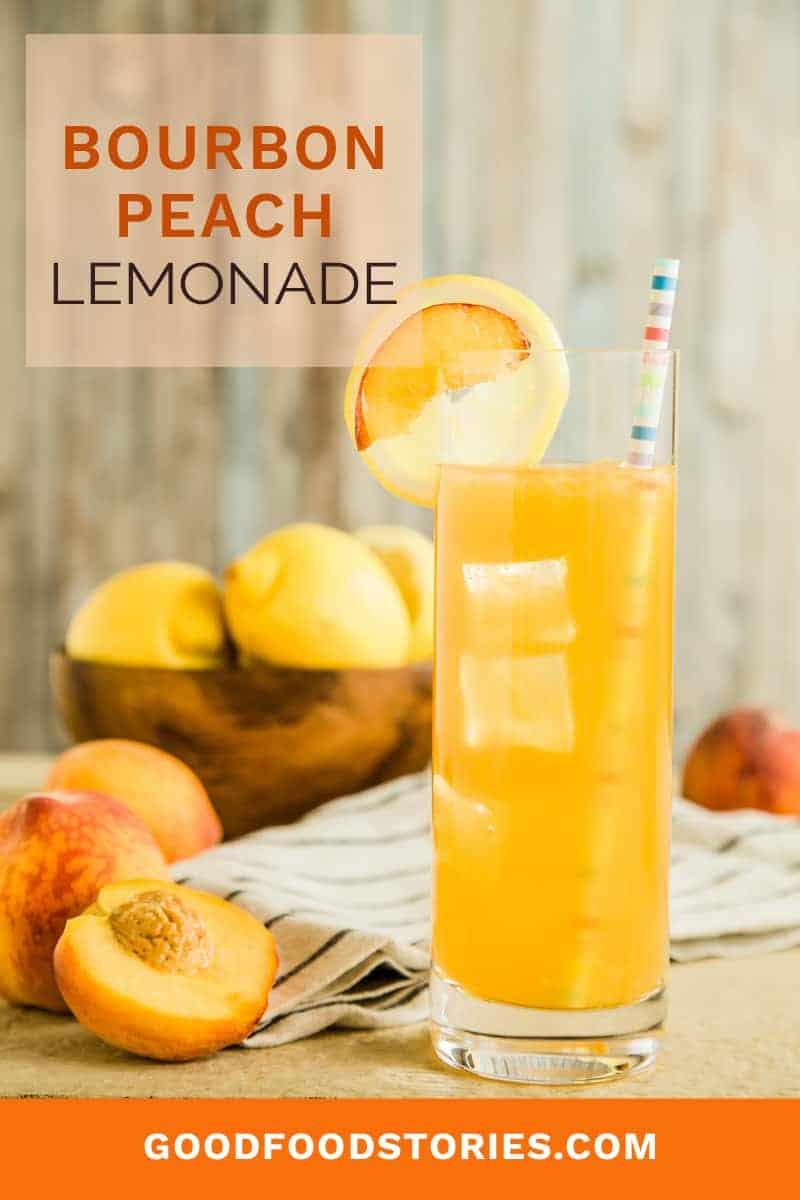 bourbon peach lemonade
