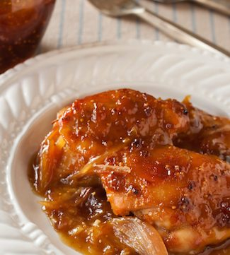 Voila! Single-Serving, No-Mess Dijon Fig Chicken