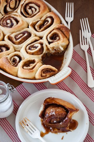 Post image for Caramel and Sea Salt Sticky Buns from The Messy Baker