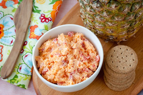 Filipino pimiento cheese recipe from Queens: A Culinary Passport - via www.www.goodfoodstories.com