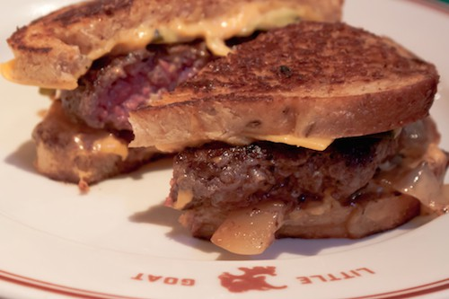 patty melt at The Little Goat, Chicago - via www.www.goodfoodstories.com