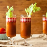 Ruddy Mary: a Bloody Mary with roasted red peppers, via goodfoodstories.com