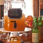 apple-sage-ginger cocktail, via goodfoodstories.com