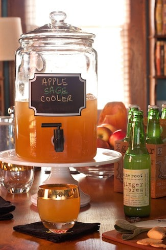 Post image for Inspired Bites and an Inspired Cocktail: Apple Sage Cooler