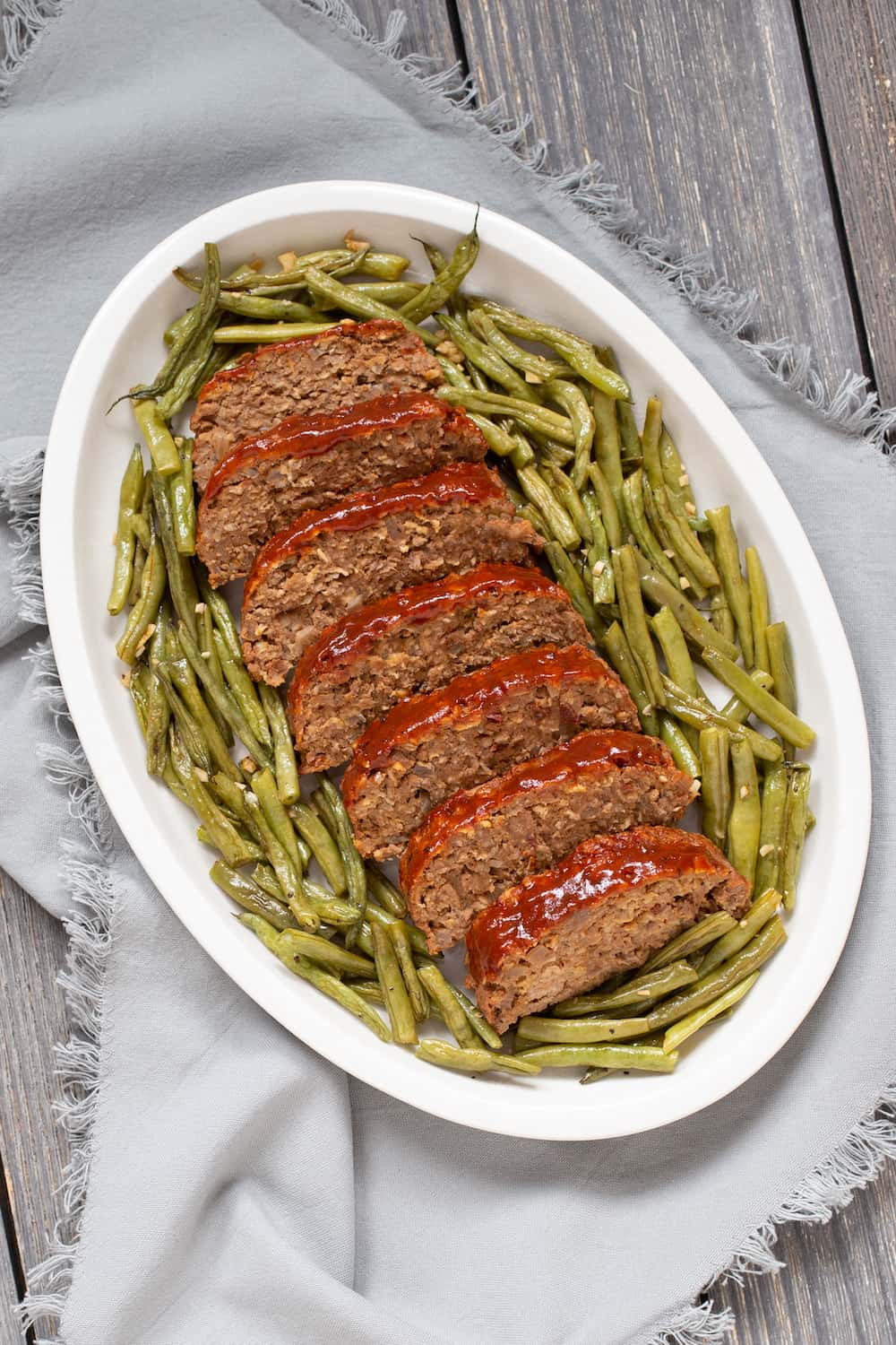 Barbecue Meatloaf and Green Beans Are Practical and Magical