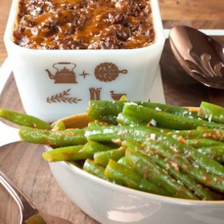 Eating My Words: Practical Magic's Meatloaf and Green Beans Are a Little of Both