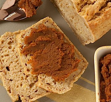 spiced pumpkin beer bread, via goodfoodstories.com