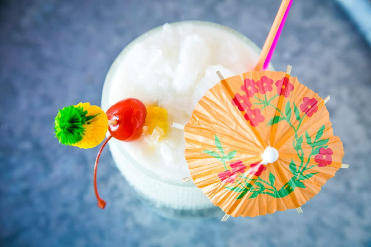 The Christmas Island: a holiday tiki drink