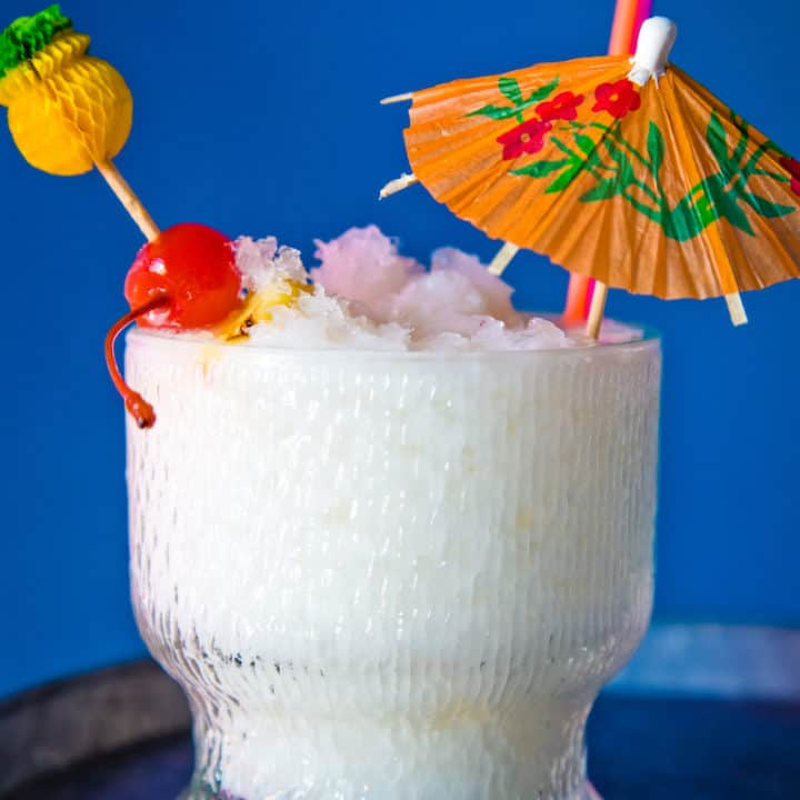 The Christmas Island: a holiday tiki drink, via goodfoodstories.com